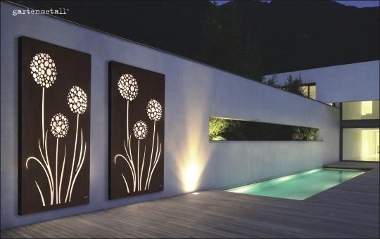 garten und landschaftsbau breuer in leverkusen cortenstahl. Black Bedroom Furniture Sets. Home Design Ideas